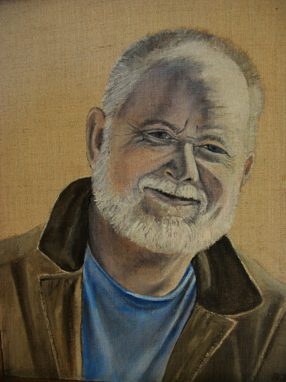 Fred, for Patty , 2012 Oil on linen, 10 x 8 inches