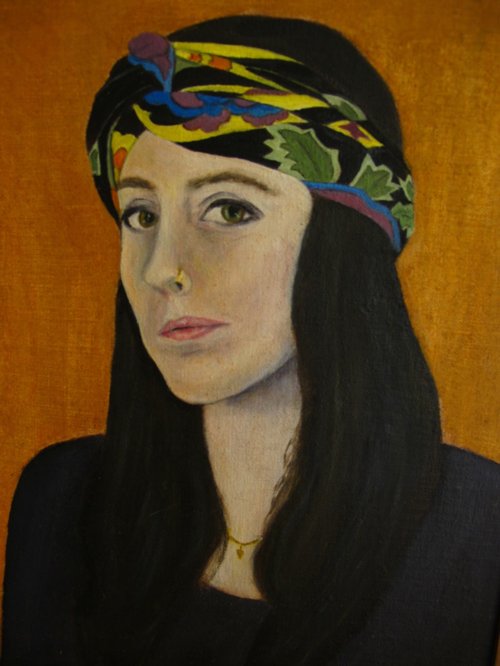 Molly , 2011 Oil on canvas, 10 x 8 inches
