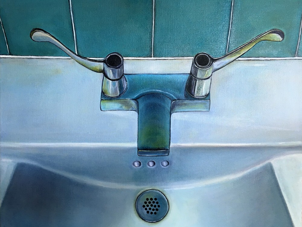 Sink of Samothrace , 2016 Oil on canvas, 16 x 20 inches
