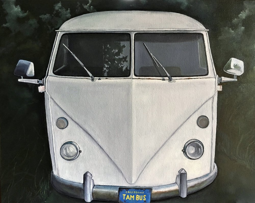Tam Bus , 2017 Oil on canvas, 16 x 20 inches