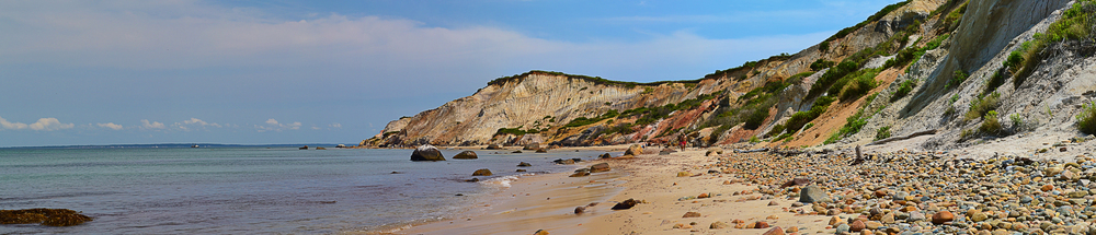 Aquinnah Cliffs, Martha's Vineyard, MA, August 2014 (detail view)