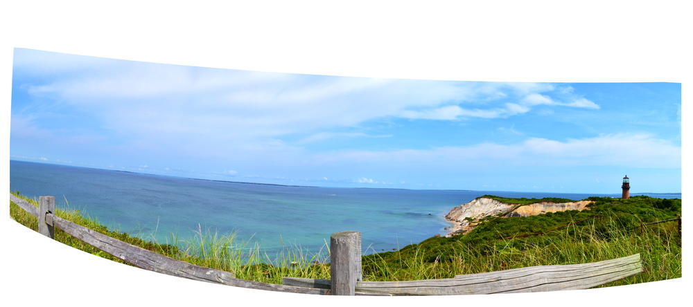 Gay Head Lighthouse, Aquinnah Beach, Martha's Vineyard, MA, August 2014