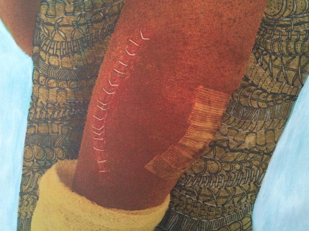 Stapled (Detail)