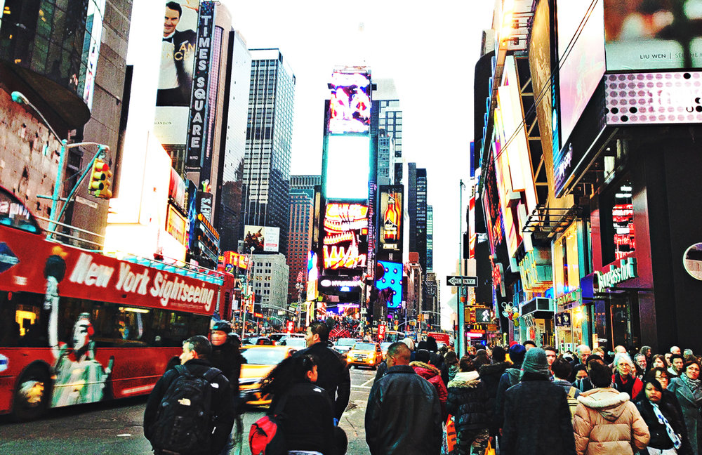 Time Square, Photography, 2014