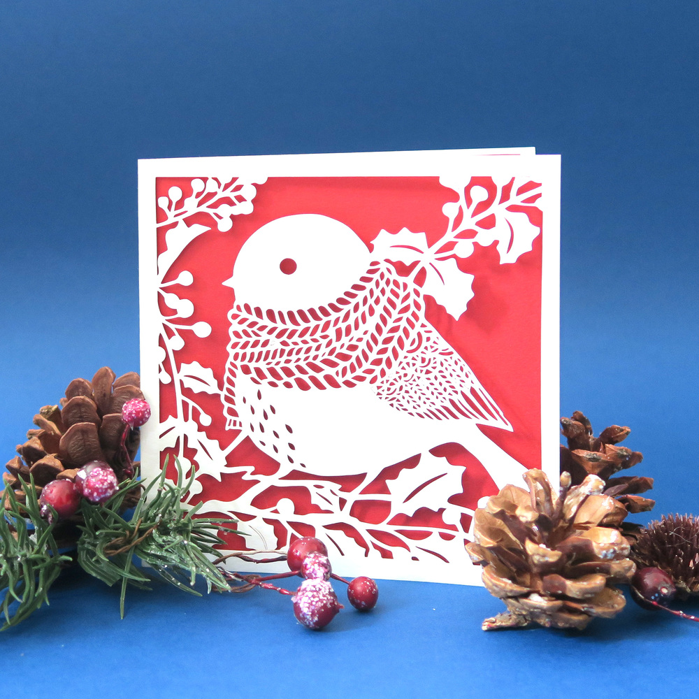Chau Art lasercut Christmas card
