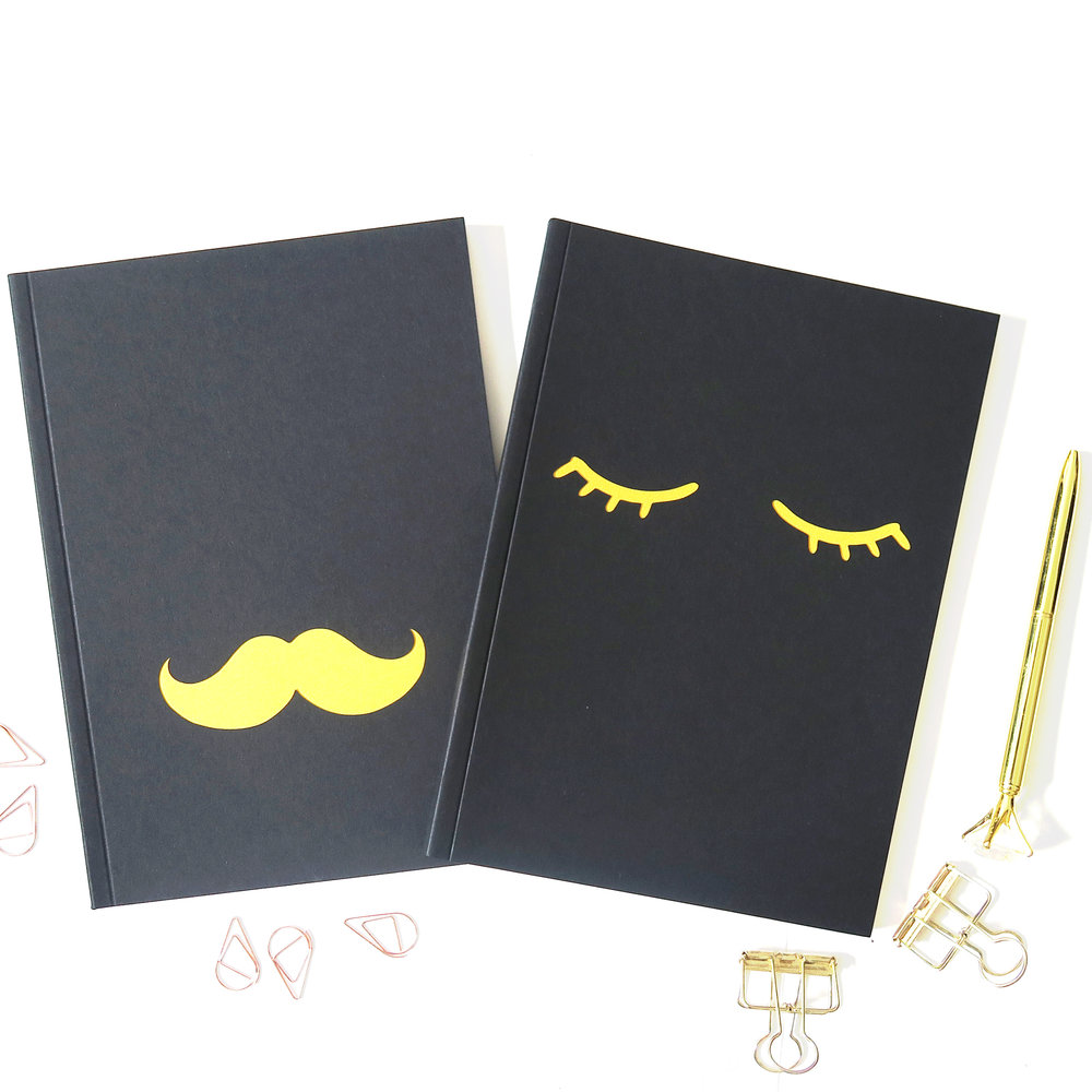 CA-NB03. Mustache and eyelash notebooks.jpg