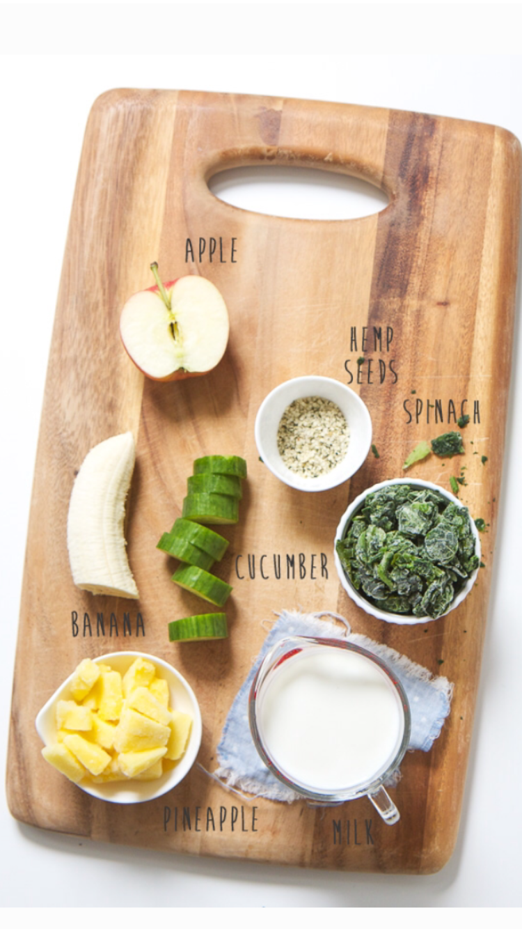 green smoothie recipe lot801