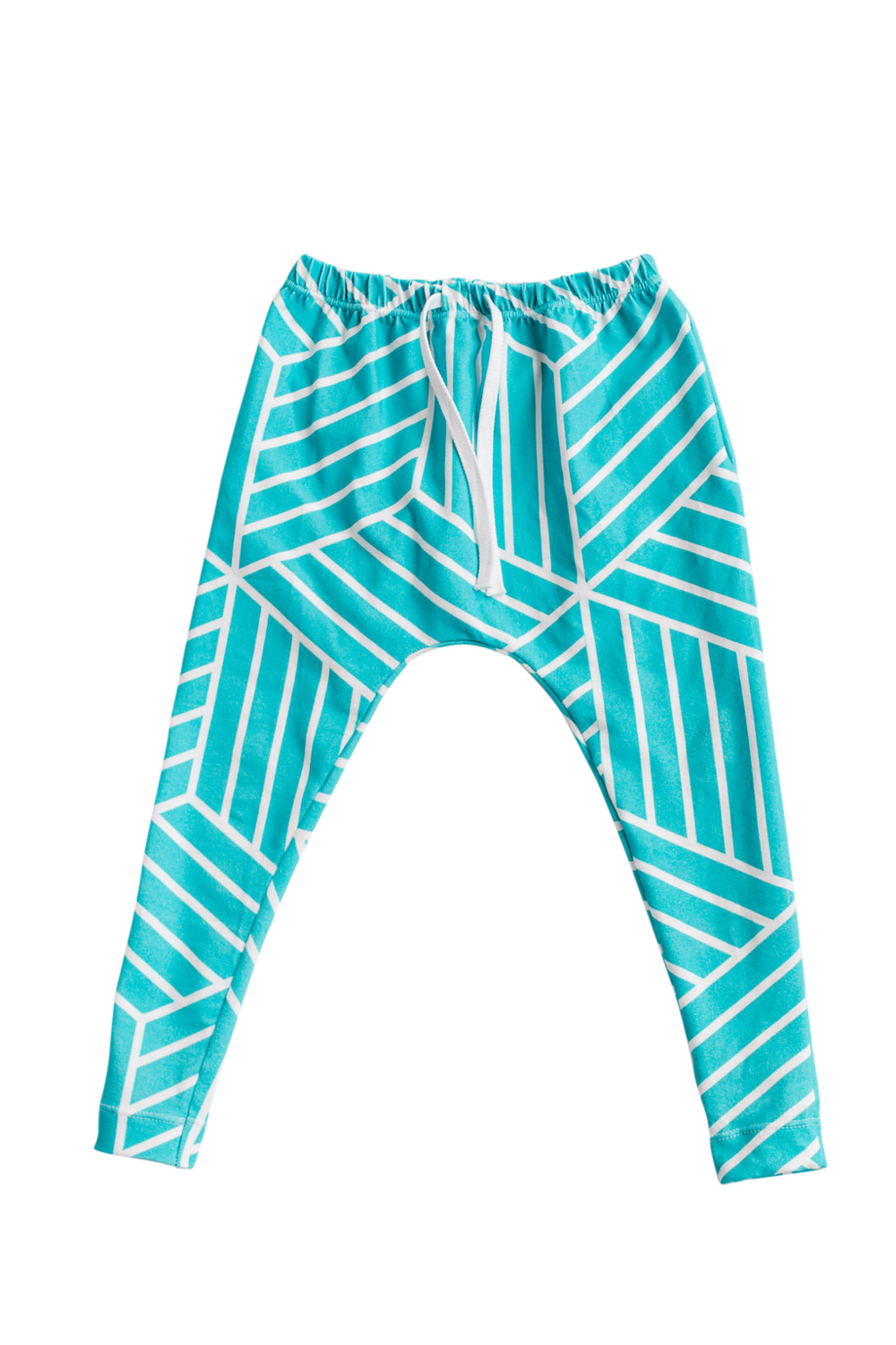 Lot801 athlesiure baby kids harem leggings ocean blue