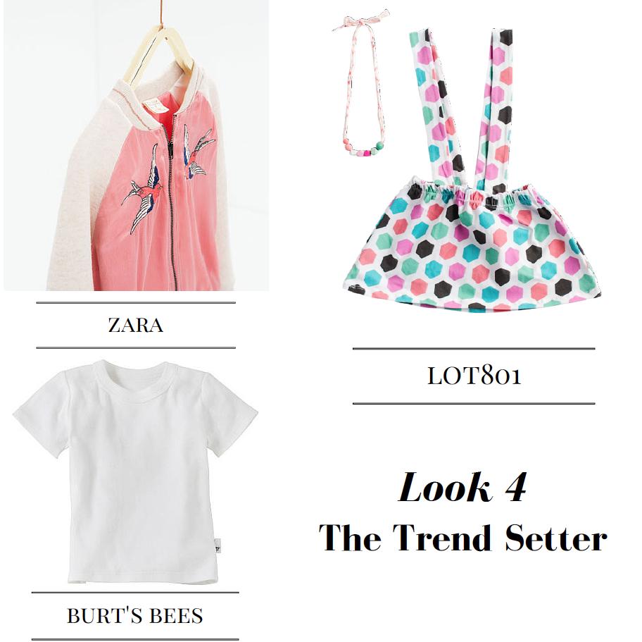 baby girl trend setter style honeycomb suspender skirt