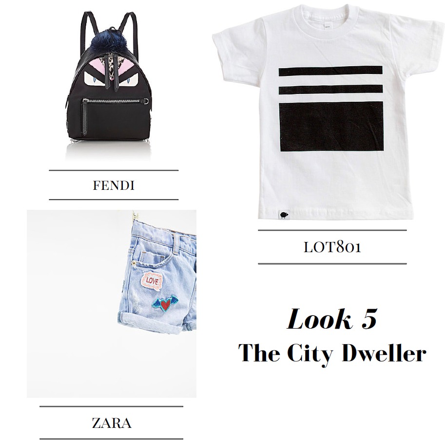 toddler city dweller style graphic tee