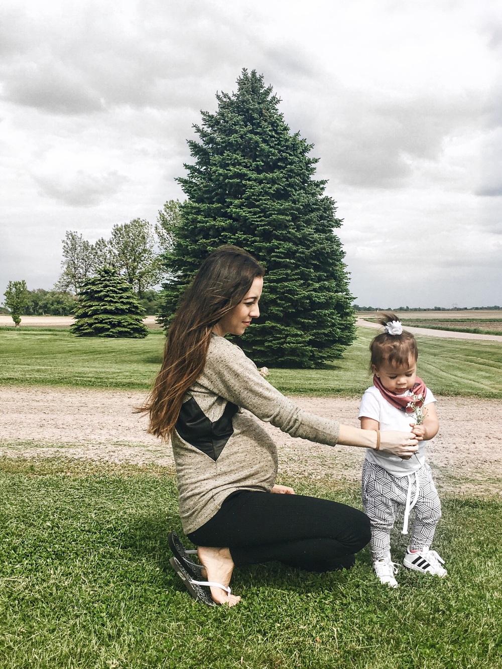 baby / toddler harem leggings. monochrome joggers