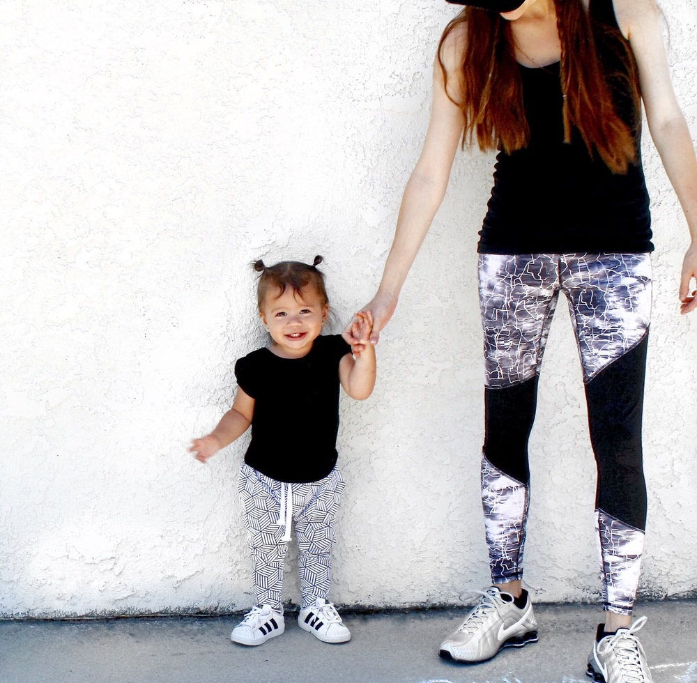 lot801 baby and toddler harem leggings and monochrome joggers