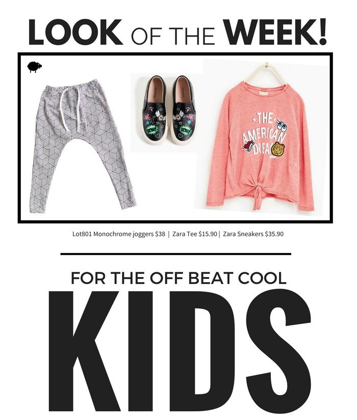 Lot801 Look of the Week. Kids brand