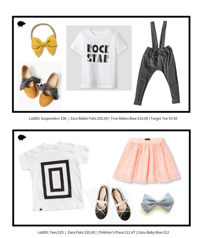 Lot801 look of the week. Kids wear