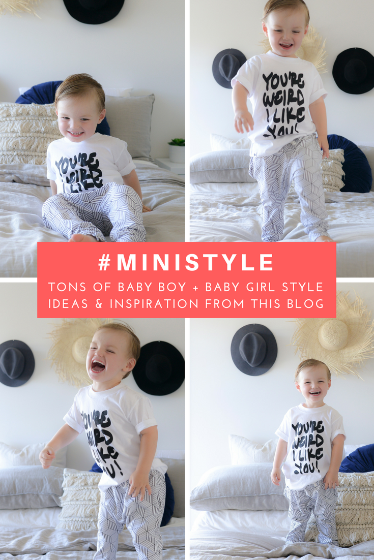 The best baby boy and baby girl outfit inspiration and style ideas.
