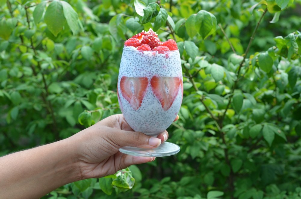 Chia pudding recipe for moms