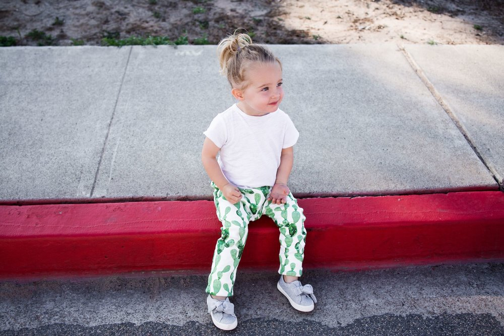 Lot801 baby and toddler cactus joggers and pants