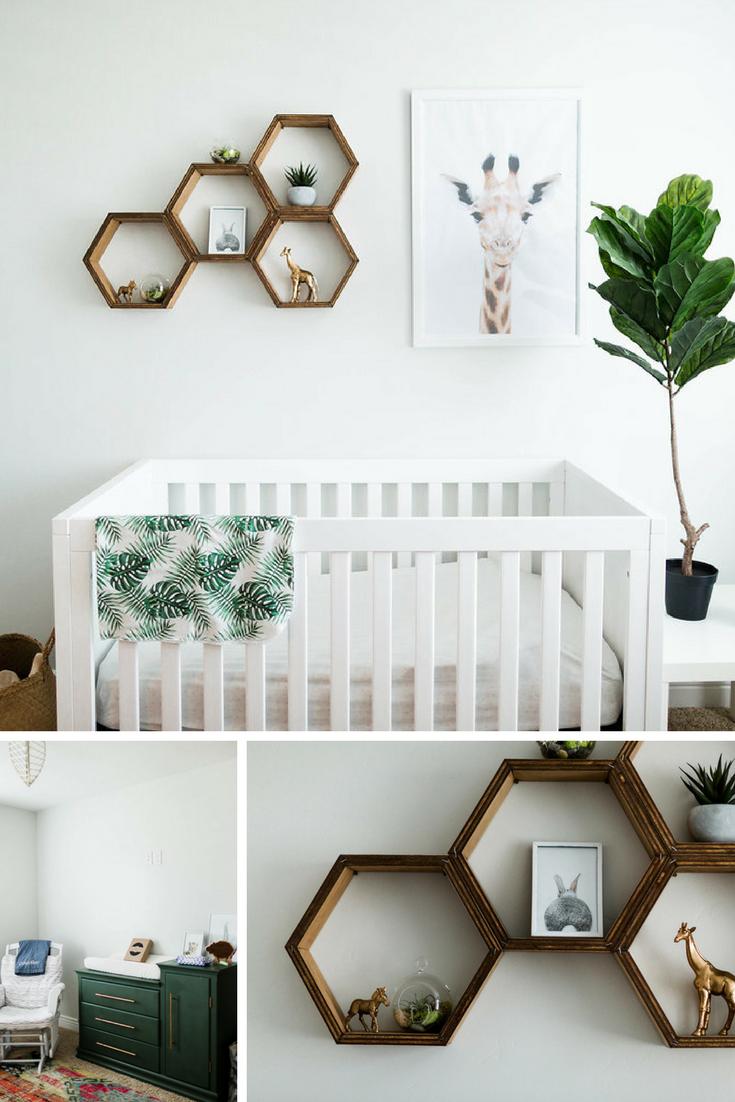 Chambre de bébé aux couleurs neutres