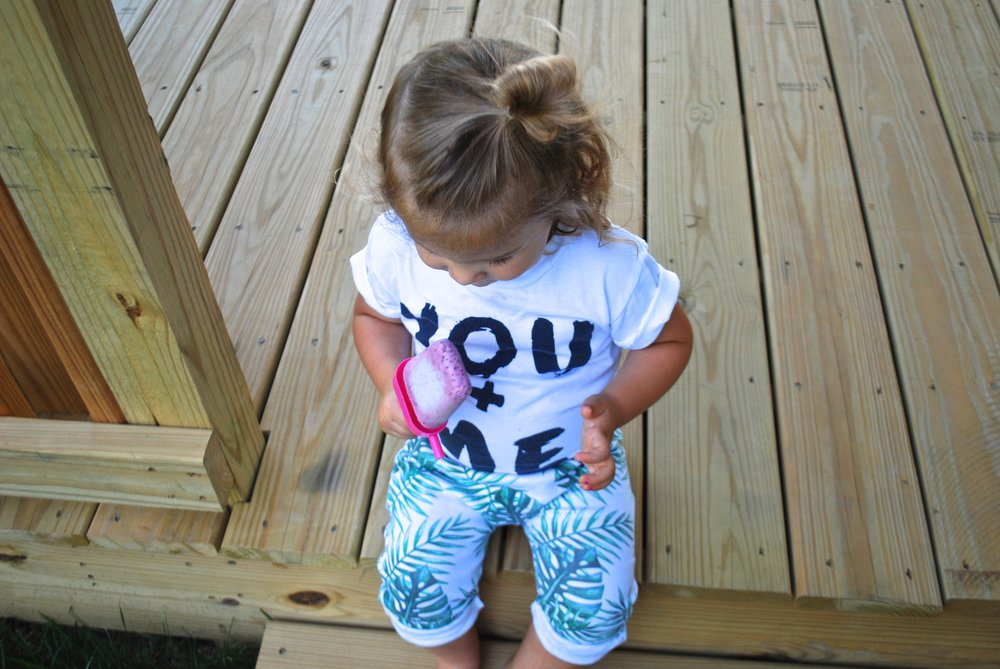 Lot801 baby and toddler palms jogger pants