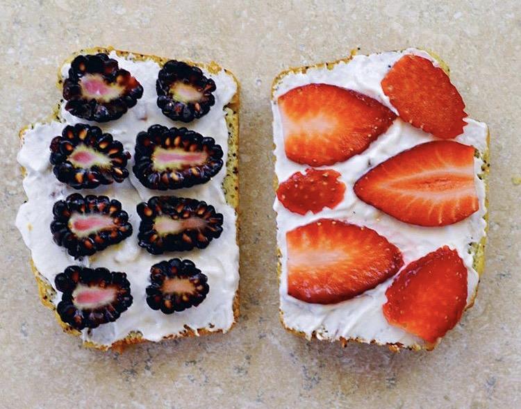 healthy yogurt toast recipe for kids