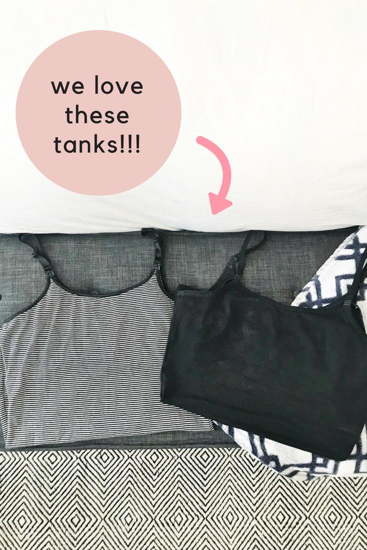 the most comfortable nursing tanks glamourmom