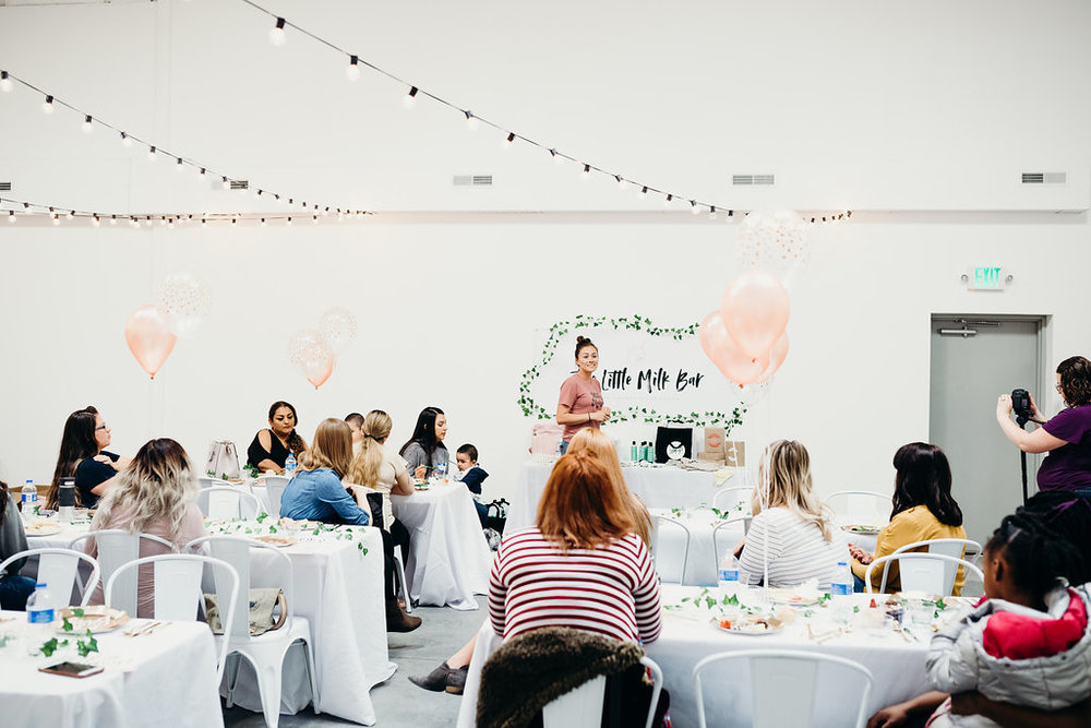 The Little Milk Bar baby shower for women in need