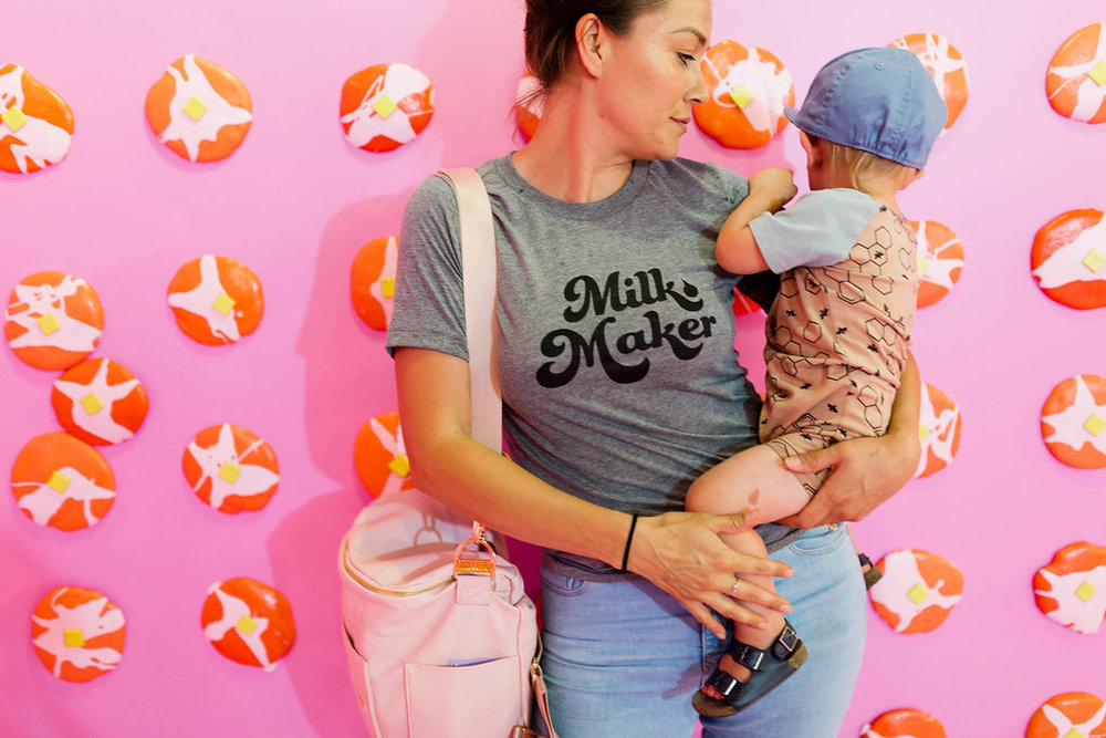The Little Milk Maker Milk Maker tee for breastfeeding moms hall of breaskfast.jpg