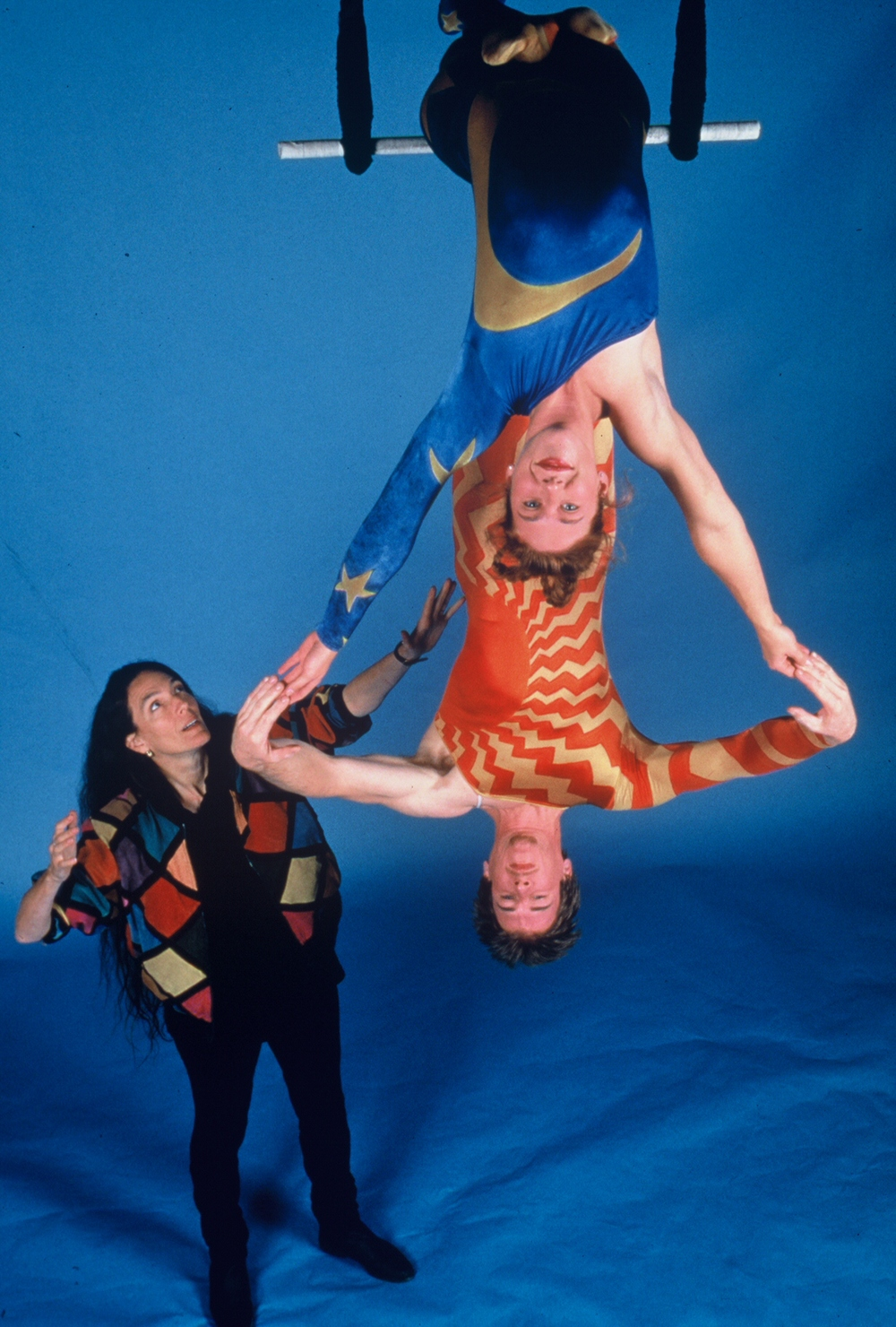 Tandy with trapeze artists