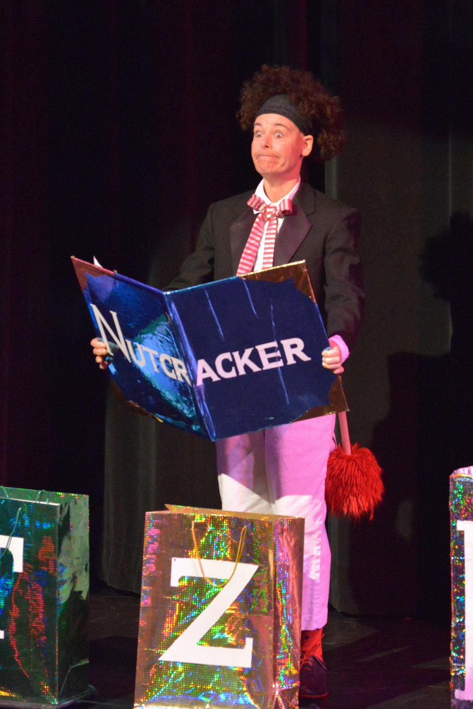 Clown narrator - photo by jana marcus