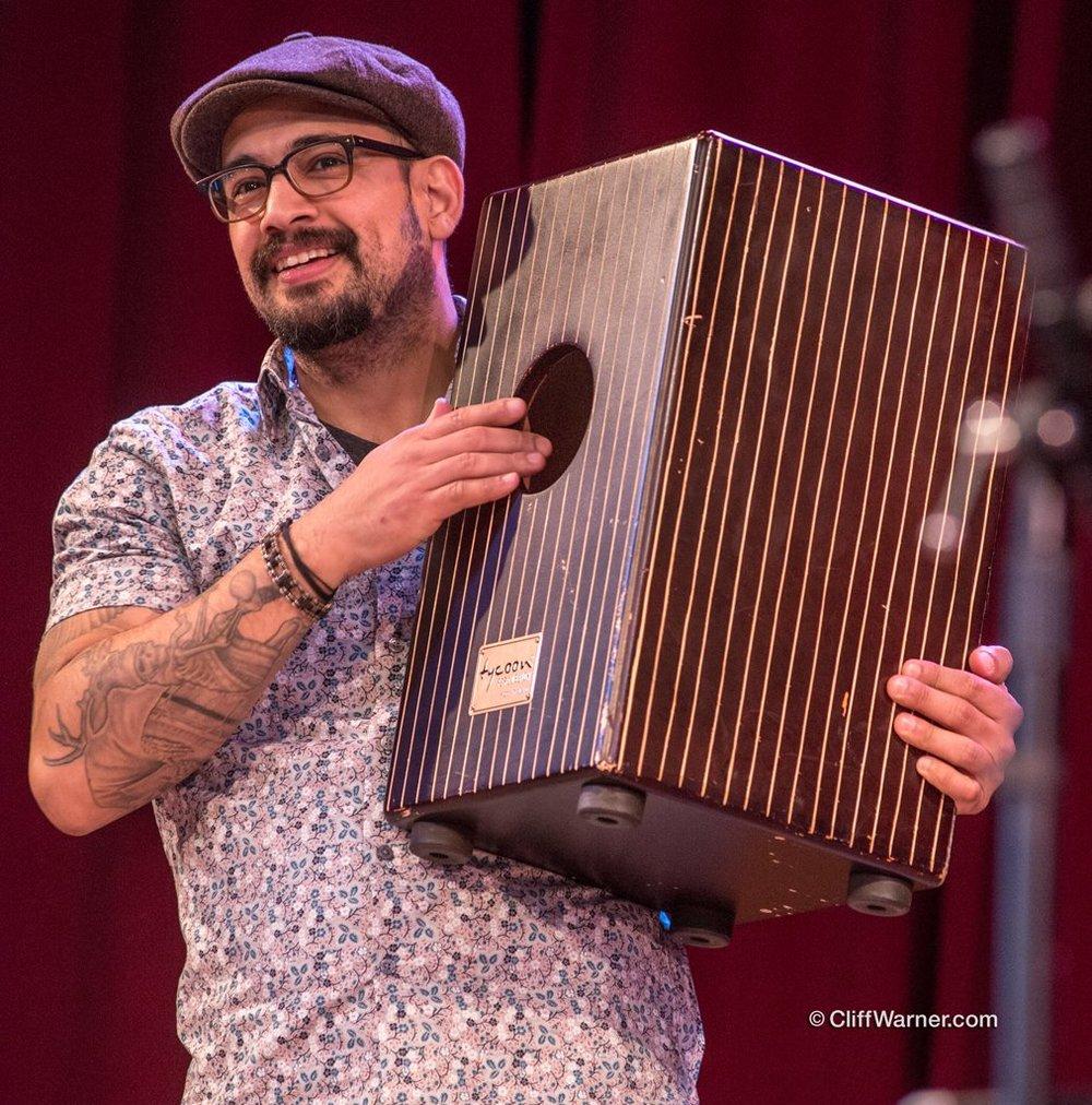 Javier with Cajon.jpg