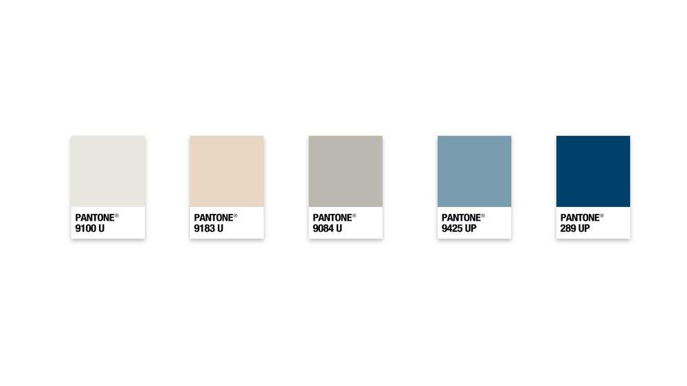 Pantone Brand Colors