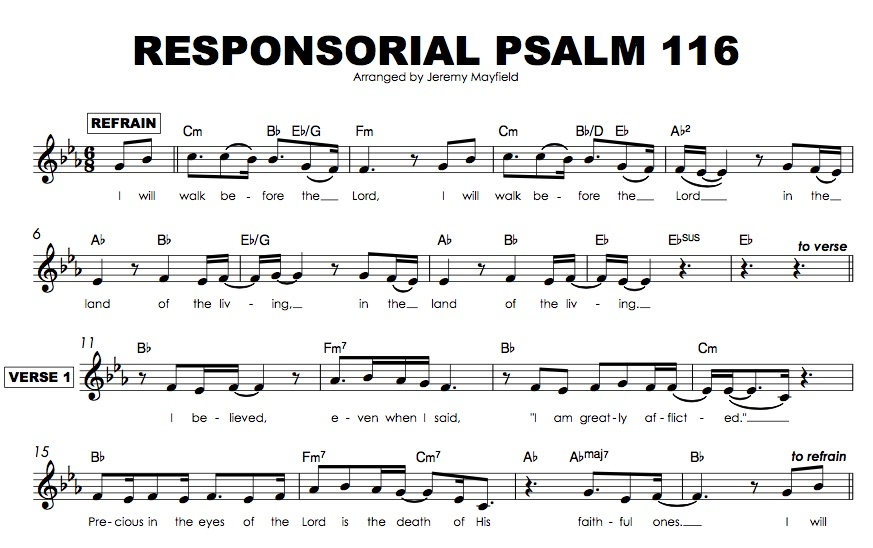 Sing A Psalm