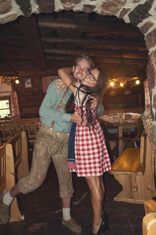 Ich & mein Freund Stefan bei der Hochzeit meiner Schwester.