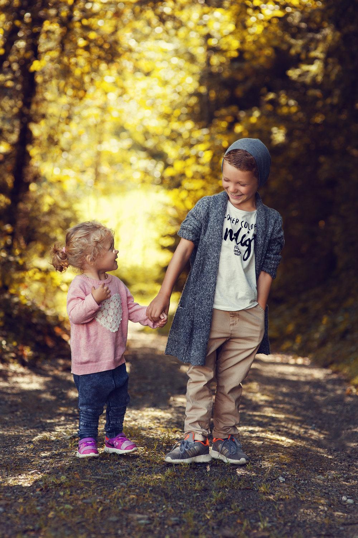 Mein Sohn & seine Cousine Anna-Lena