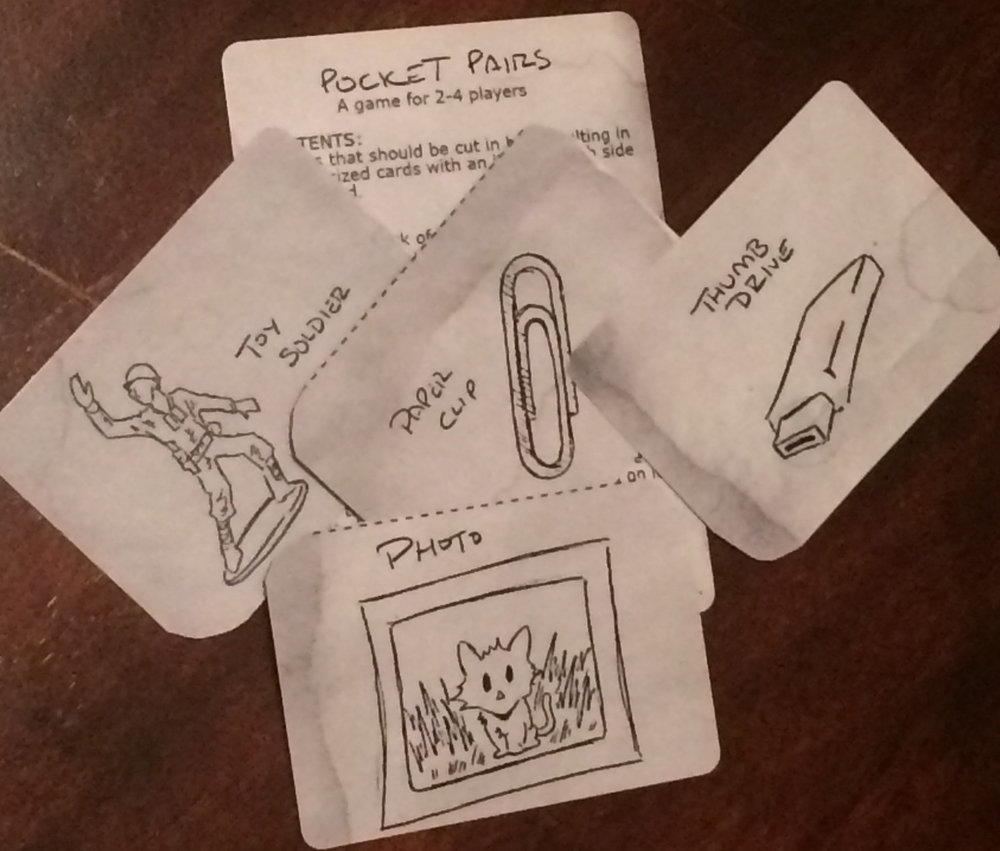 Pocket Pairs Card Game