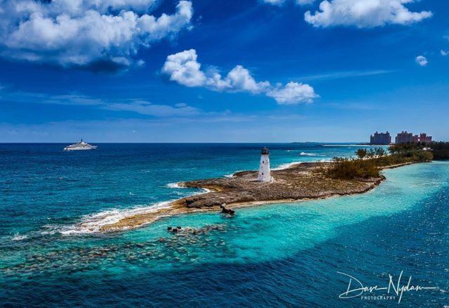 Entering the port of Nassau. #landscapelovers #oceanscape #princesscruises #royalprincess #bahamas #nassau #carribean #canonphotography #earthpix