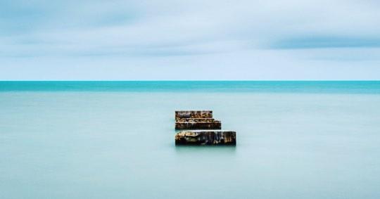 Pier remnants in Key West. #longexposure #amazing_longexposure #keywest #floridakeys #seascapes #piers #landscapephotography