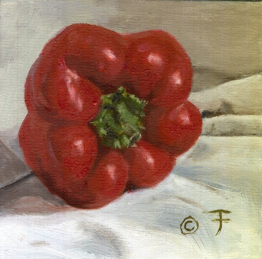 RED PEPPER PORTRAIT