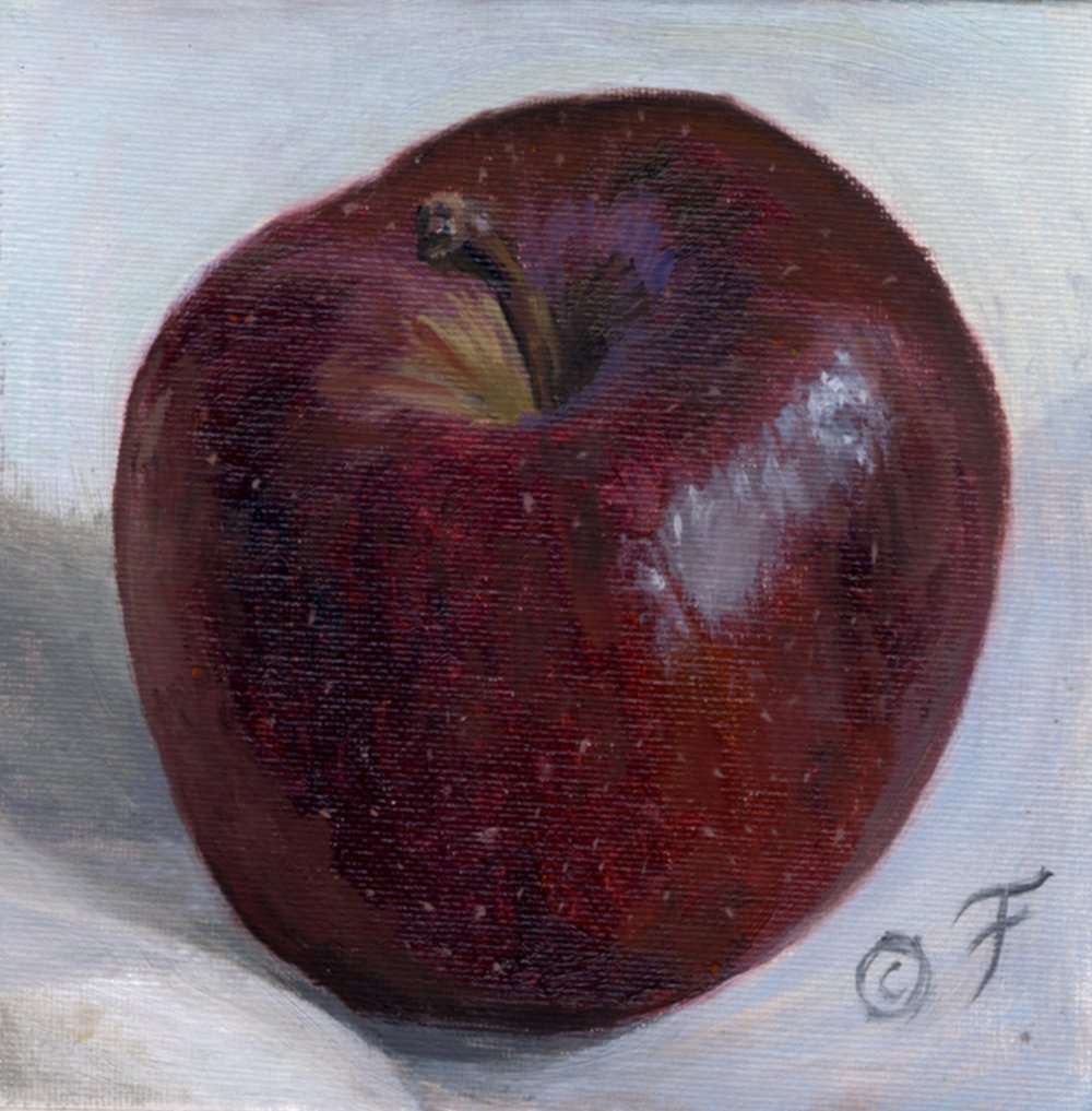 RED APPLE PORTRAIT