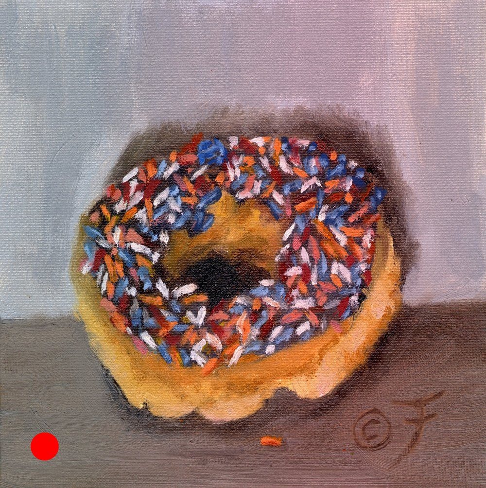 Donut with Sprinkles