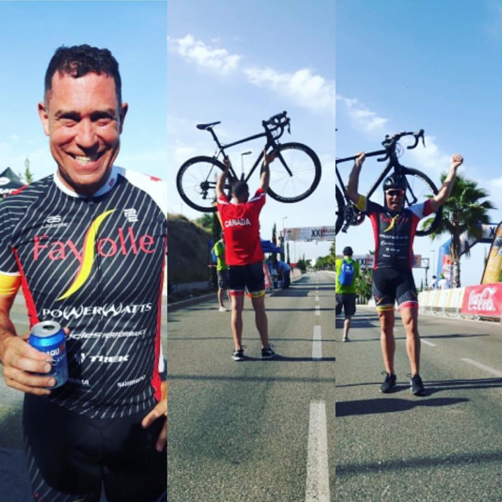 Transplant recipient breaks world record on his bike - The 50-year-old had struggled with kidney problems for years and in November 2015 his doctor told him he would need a transplant.
