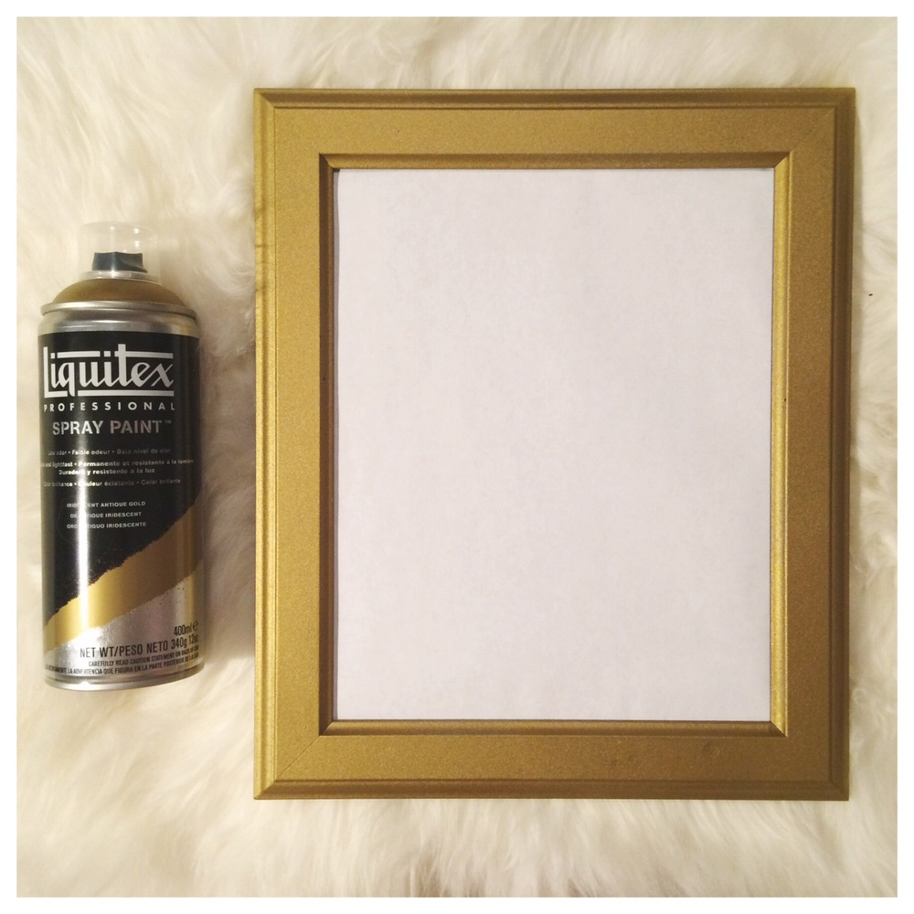 Liquitex Gold Spray Paint
