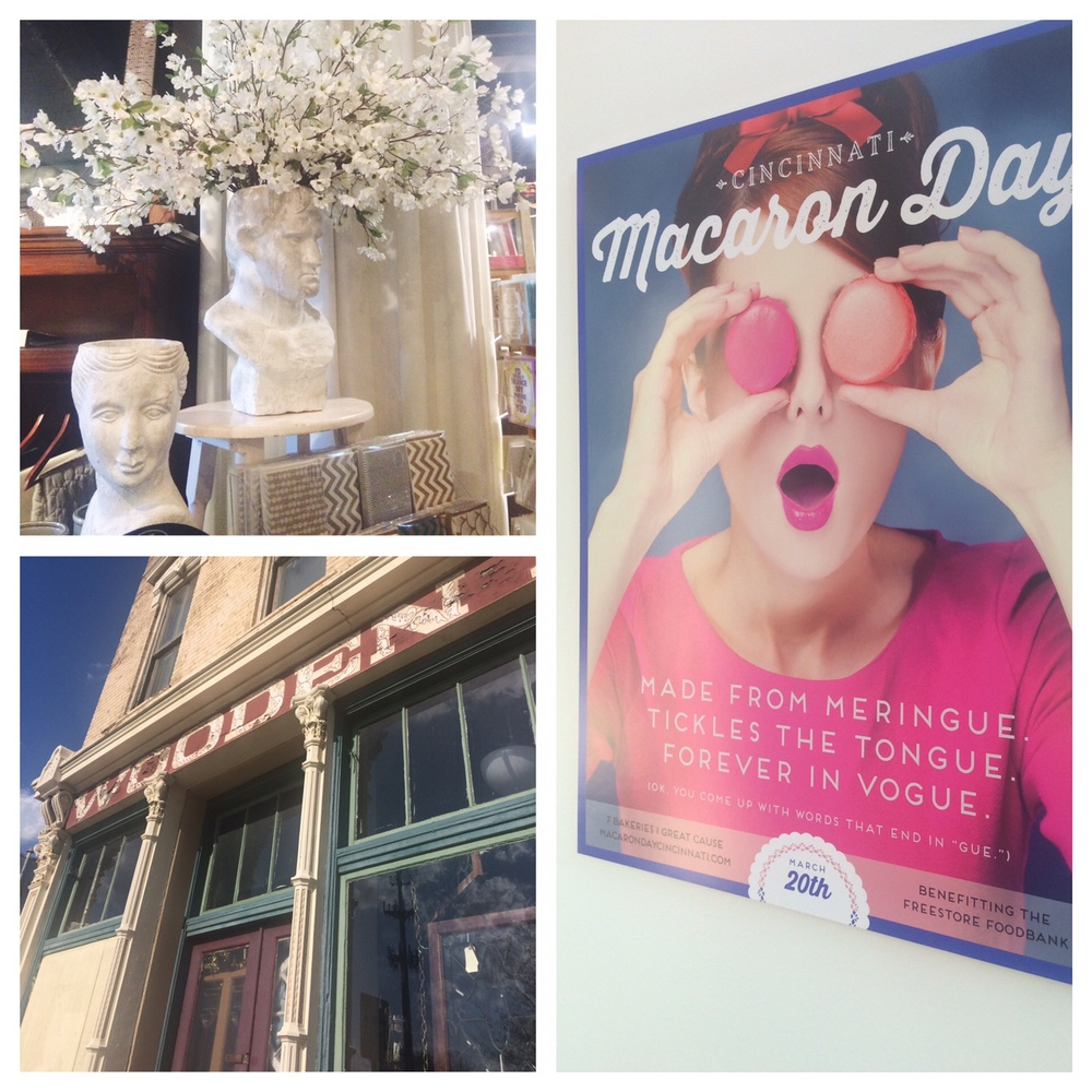 A few required stops including the fabulous High Street, eclectic Wooden Nickel Antiques and the beautiful Macaron Bar!