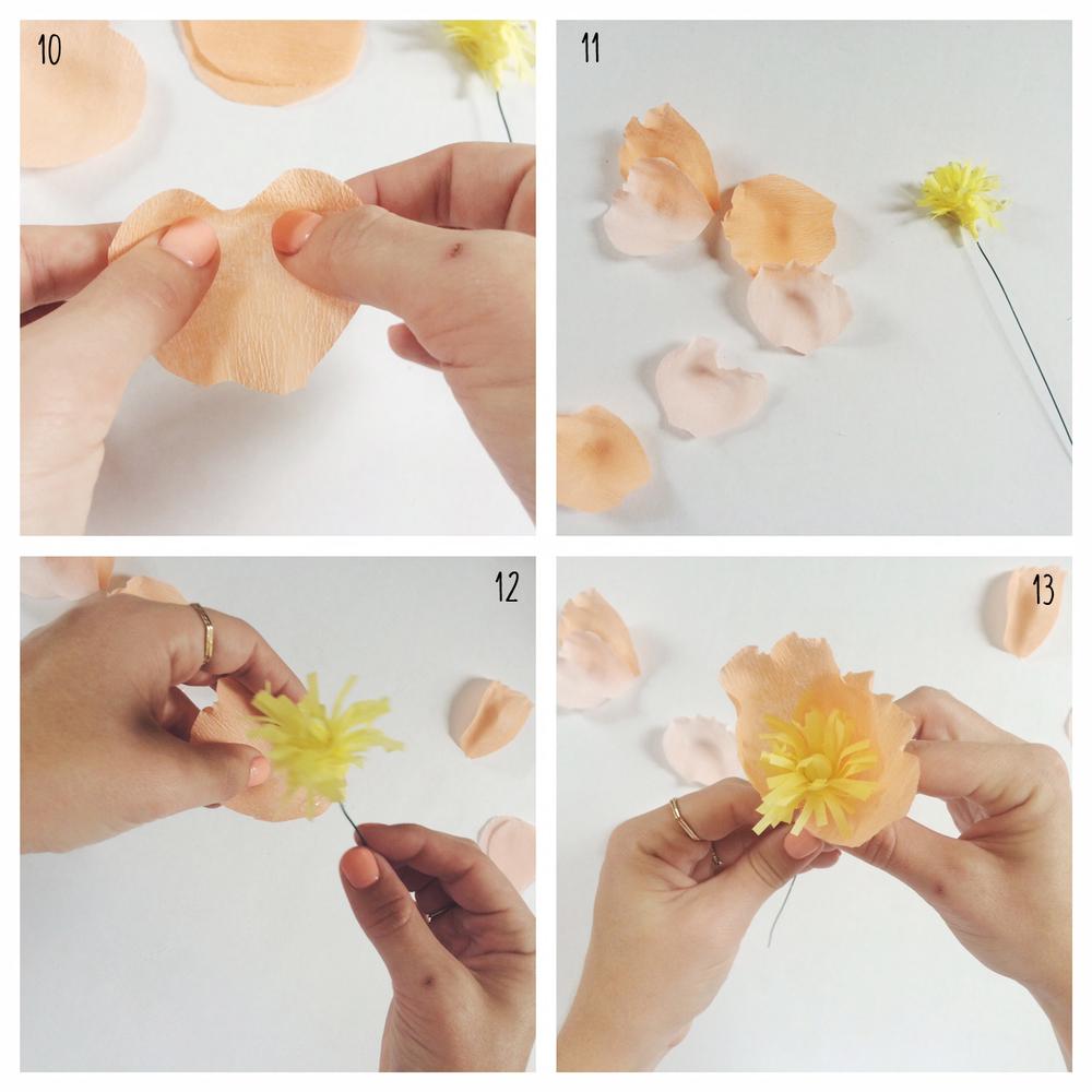 paper flower d i y u2014 mishaps u0026 mimosas