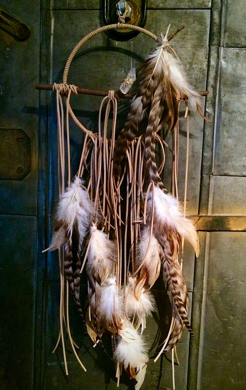 My finished dreamcatcher!