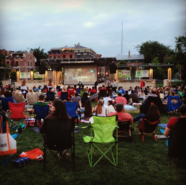 Washington Park Summer Cinema. Picture from Instagram