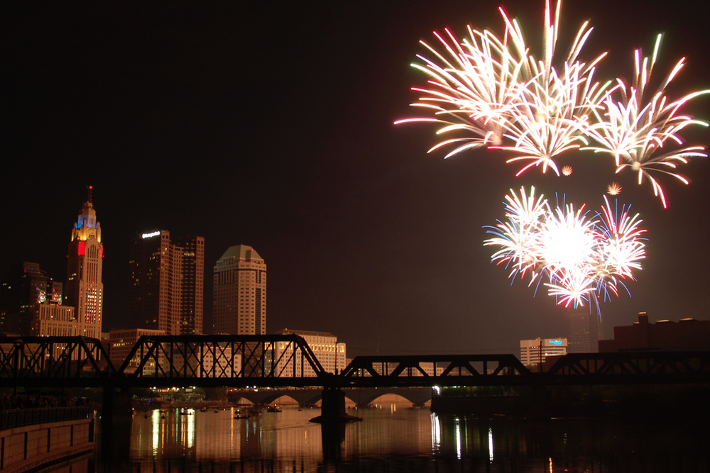Red White and Boom in Downtown Columbus. Photo from Flickr.