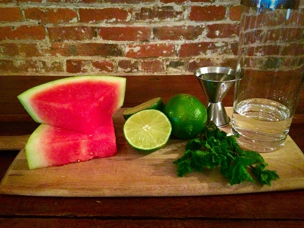 Simple and fresh summer-time ingredients!