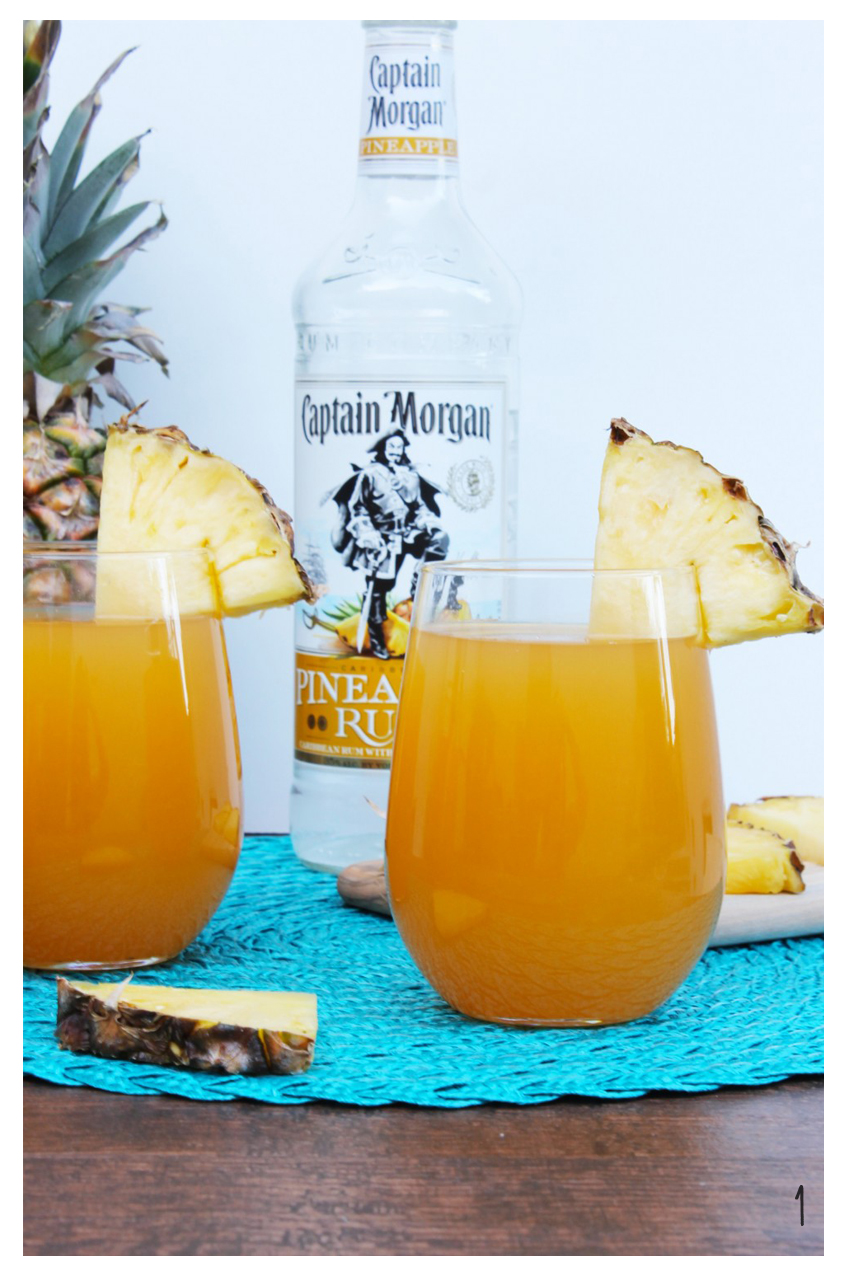 1. Pineapple Mango Rum Punch