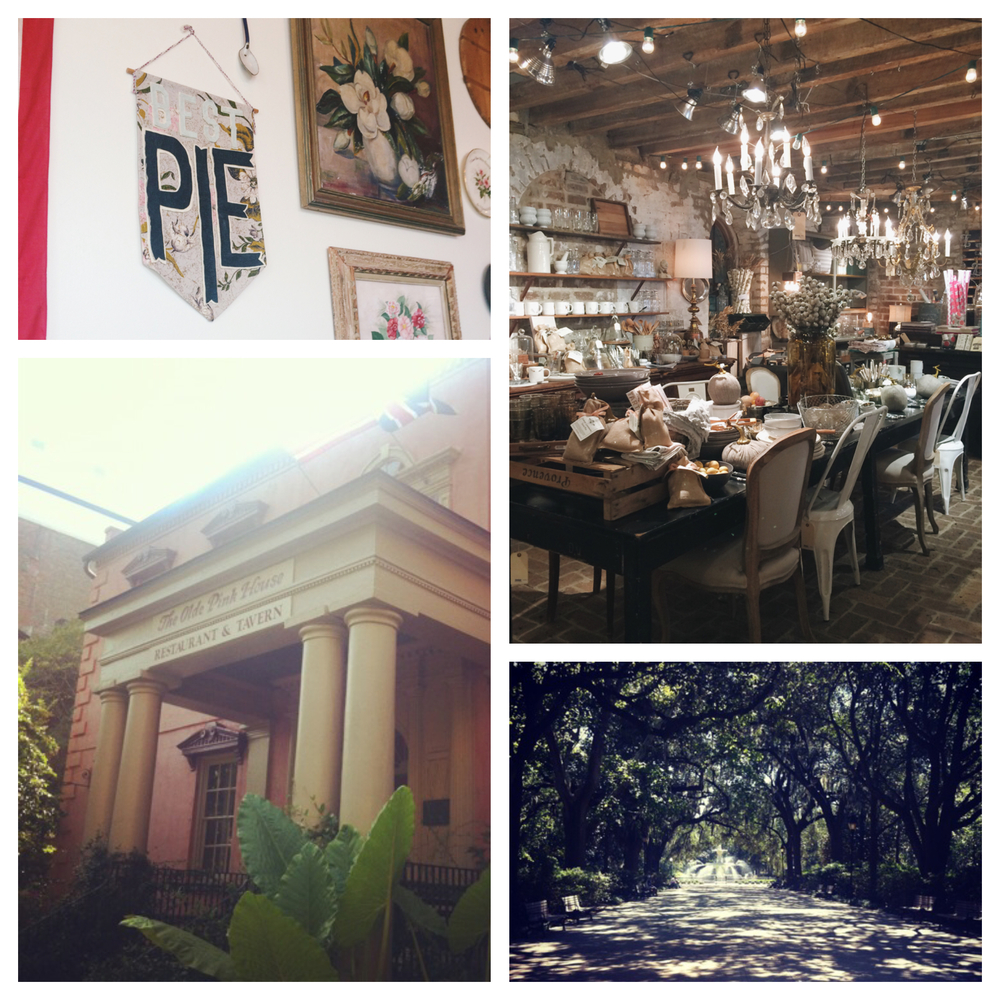A few of my favorite spots in Savannah!
